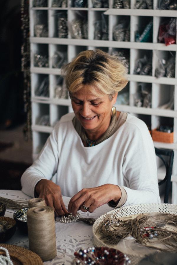 Isabelle Mathieu, création de bijoux artisanaux