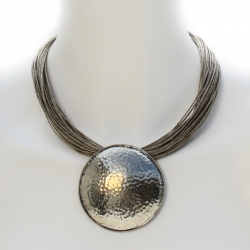 Collier ethnique oriental -collier lin Abeline