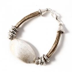Bracelet lin fantaisie Valence