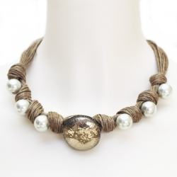 Collier bohème - collier boho lin Jakarta