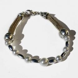 Bracelet boho chic bijoux naturels et bracelet de créateur de bijoux